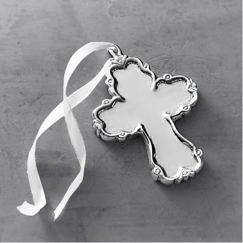 Baby Princess Cross Ornament
