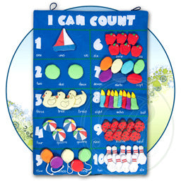 I Can Count Chart- Blue