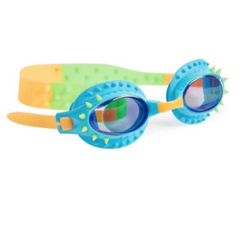 Nelly Swim Goggles - Piranhas Blue Green