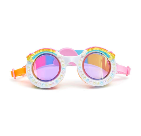 Good Vibes Swim Goggles - Rainbow