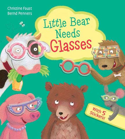 """Little Bear Needs Glasses"""