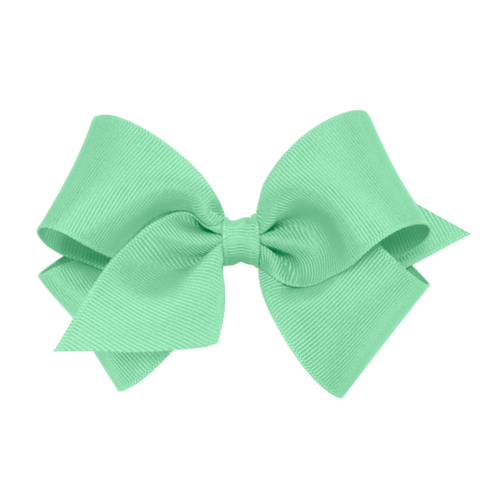 Mint Grosgrain Bow