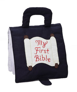 """My First Bible"" - Navy"