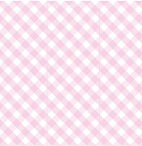 Scented Drawer Liners- Pink Gingham