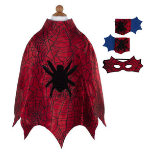 Spider Cape Set with Mask & Cuffs