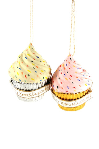 Sweet Treat Cupcake Ornament