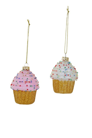 Tiny Cupcake Ornament