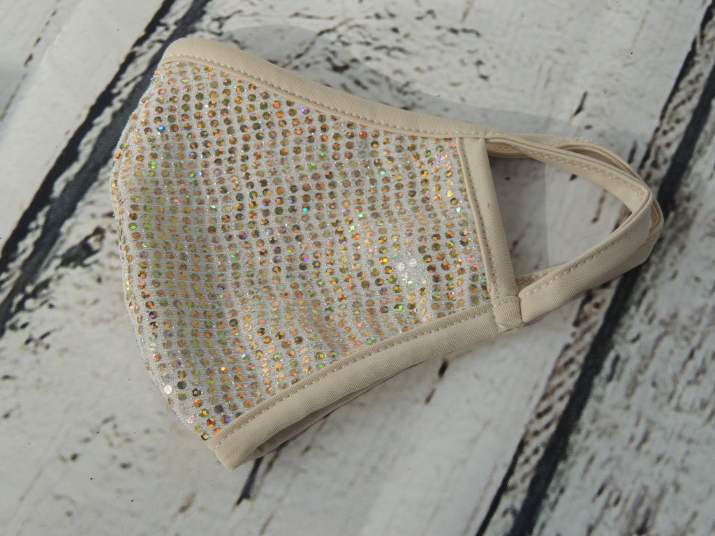 Fabric Bling Mask