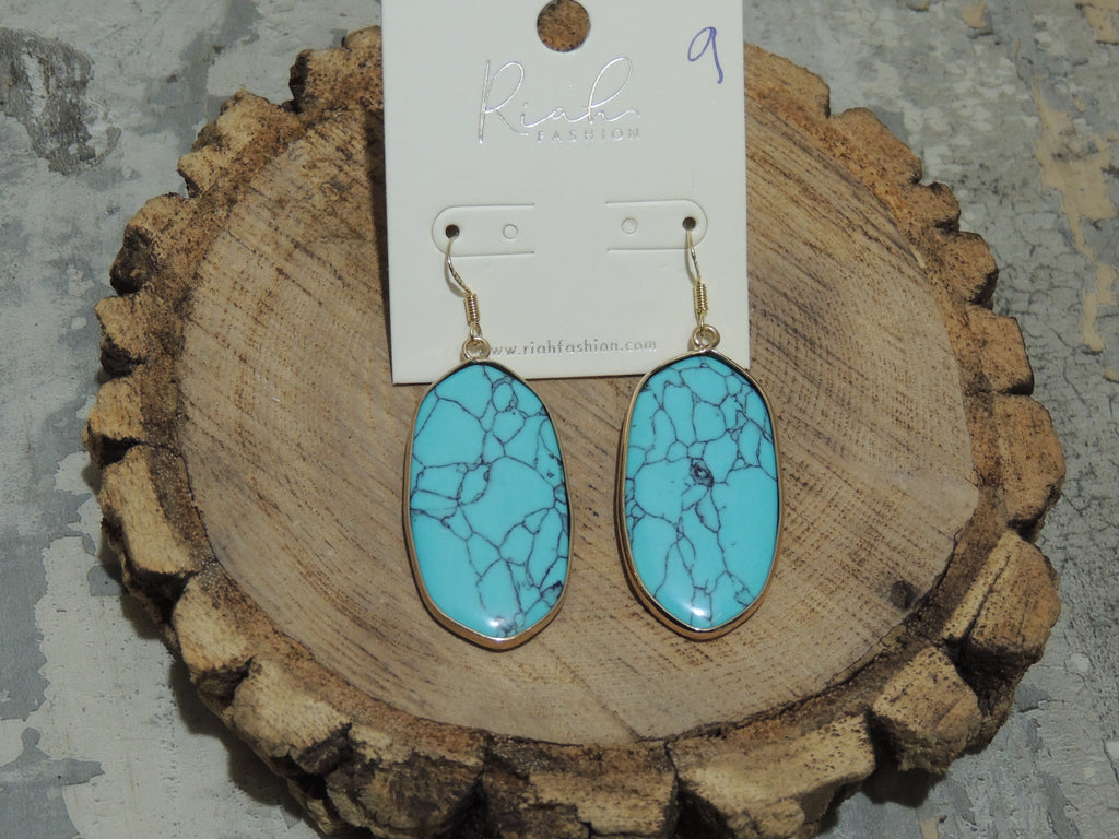 Riah Turquoise Earrings