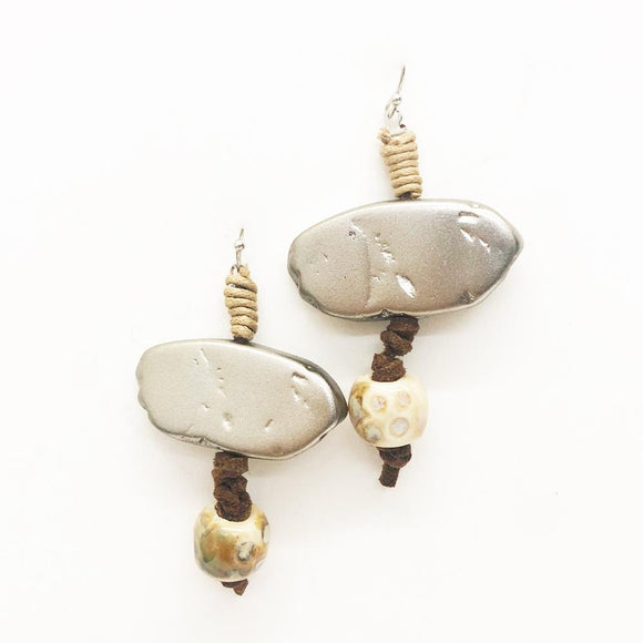 Relic Wrapped Drop Earrings