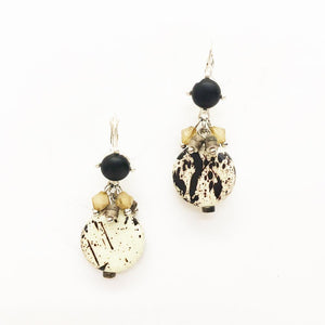 Relic Beaded Lever Back Earrings