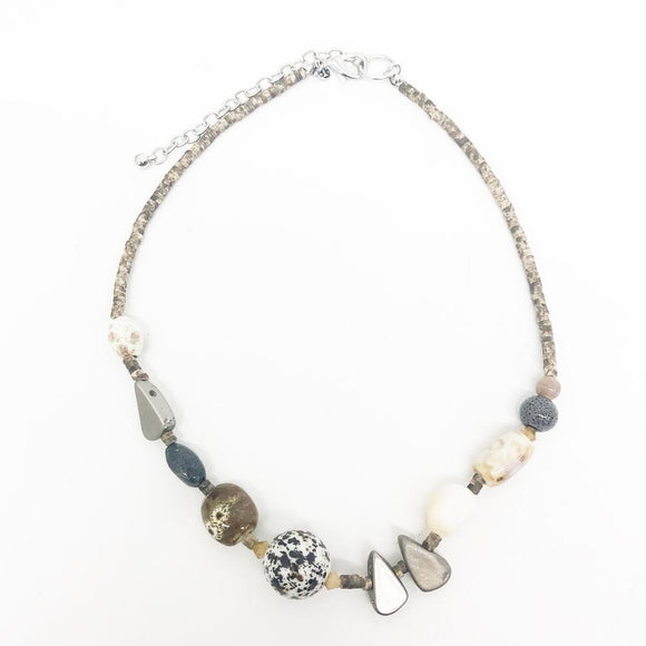 Relic Short Beaded Necklace