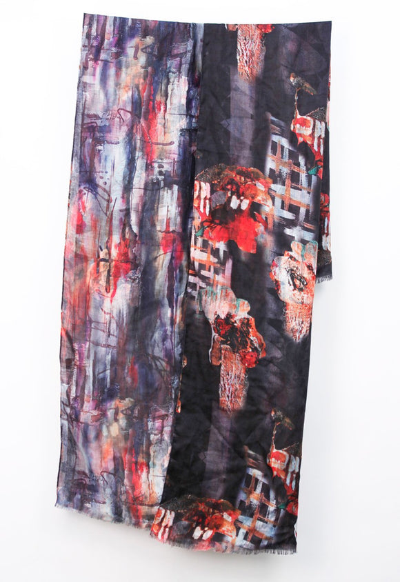 Light Weight Dark Multi Color Double Sided Print Wrap