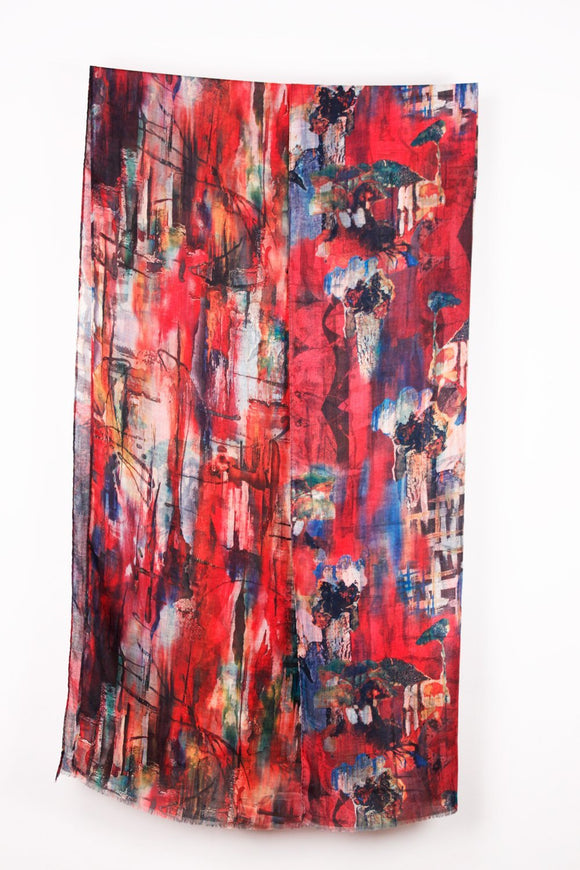 Light Weight Red Multi Color Double Sided Print Wrap