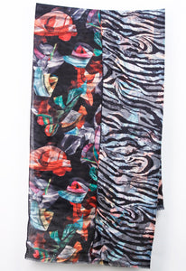 Light Weight Black/Red Multi Color Double Sided Print Wrap