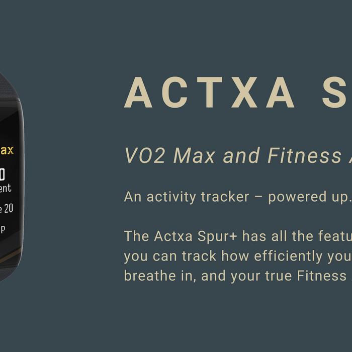 All you need to know about the Actxa Spur+ and VO2 Max