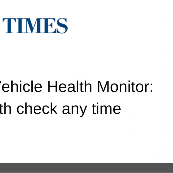 10 AUG 2018: Nonda ZUS Smart Vehicle Health Monitor: Give your car a health check any time
