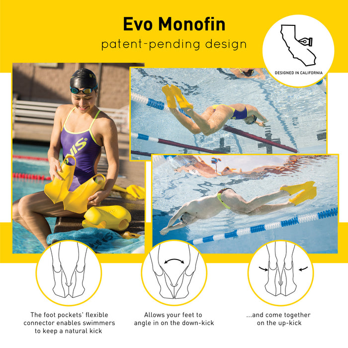 EVO Monofin - Yellow
