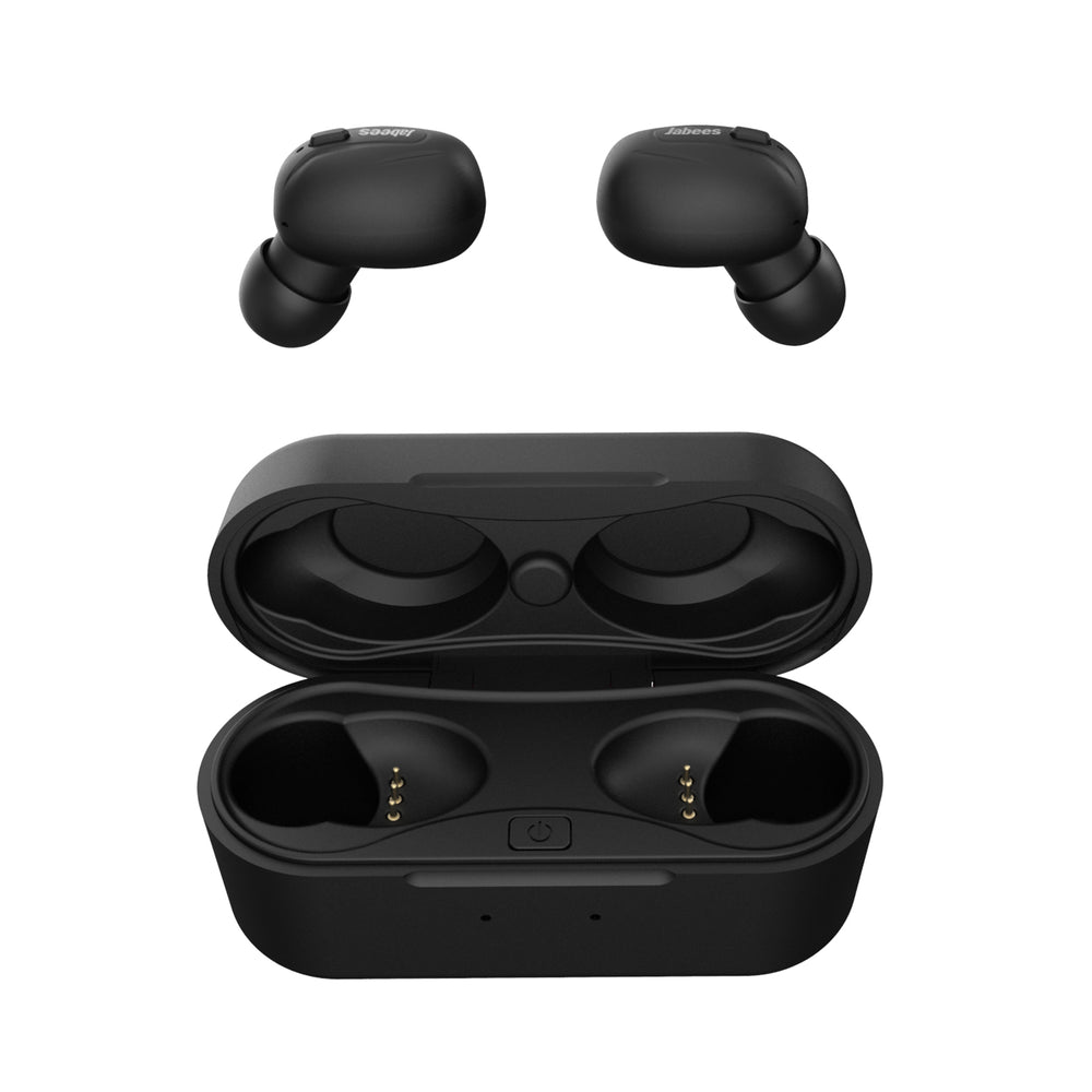 Jabees Beeing True Wireless Earbuds With Qi-Compatible Wireless Charging Case
