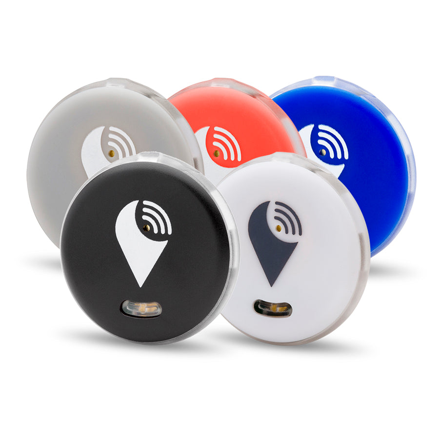 TrackR Pixel [5 Unit - Black, White, Silver, Red, Blue]