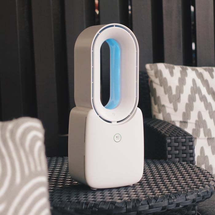 AXTRO AI Bladeless Fan (UV-C Sterilization / Smart App Control)