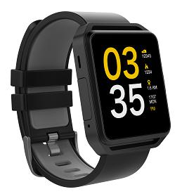 HitFit Smart Watch 1.54' Colour Screen - Black (DW-019PRO)