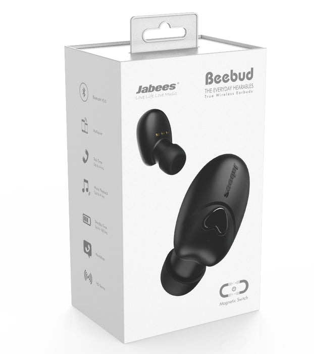 Jabees Beebud - True Wireless Fitness Earbuds
