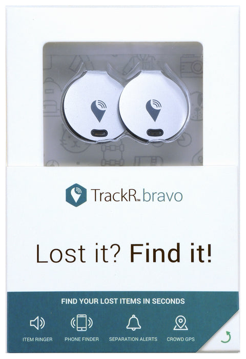 TrackR Bravo Bluetooth Tracker [2 Unit]