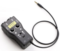 SmartRig+ 2-Ch XLR/3.5mm Microphone Audio Mixer (Phantom Power Preamp, Guitar Interface)