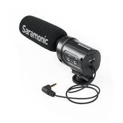SR-M3 On-Camera Shotgun Microphone for DSLRs, Mirrorless, Video Cameras