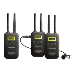 Saramonic VmicLink5 TX+TX+RX 5.8GHz Wireless Mic Sys