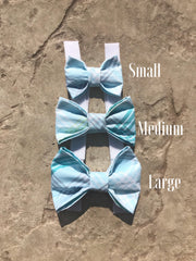 Crushed Ocean Bow tie