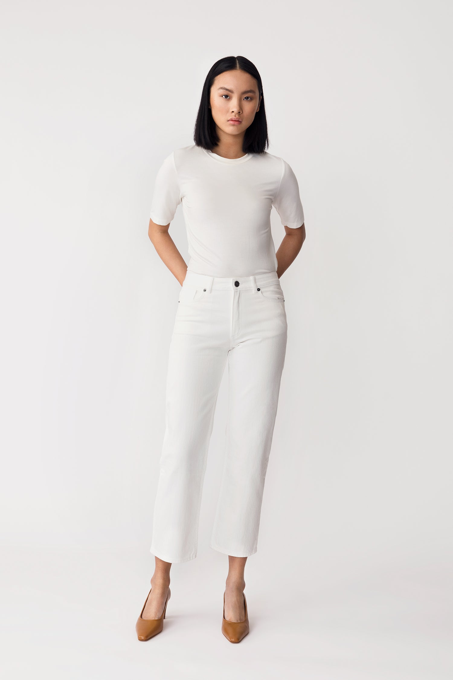 KASEY DENIM - WHITE