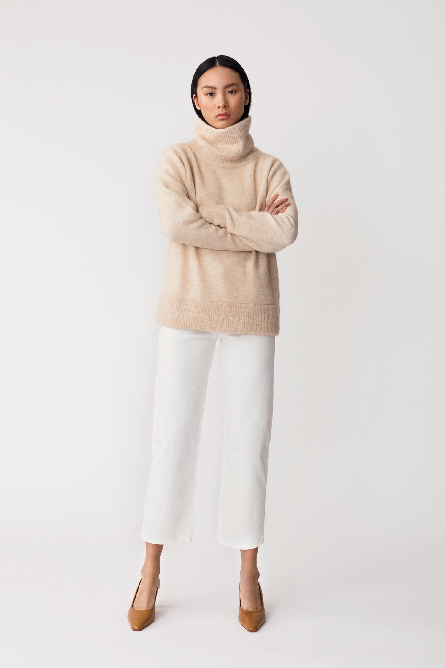 ELBE SWEATER - LIGHT BEIGE