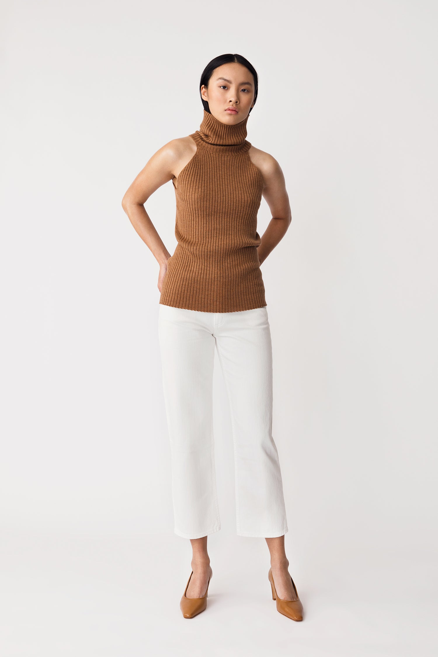 REIDA TOP - BROWN
