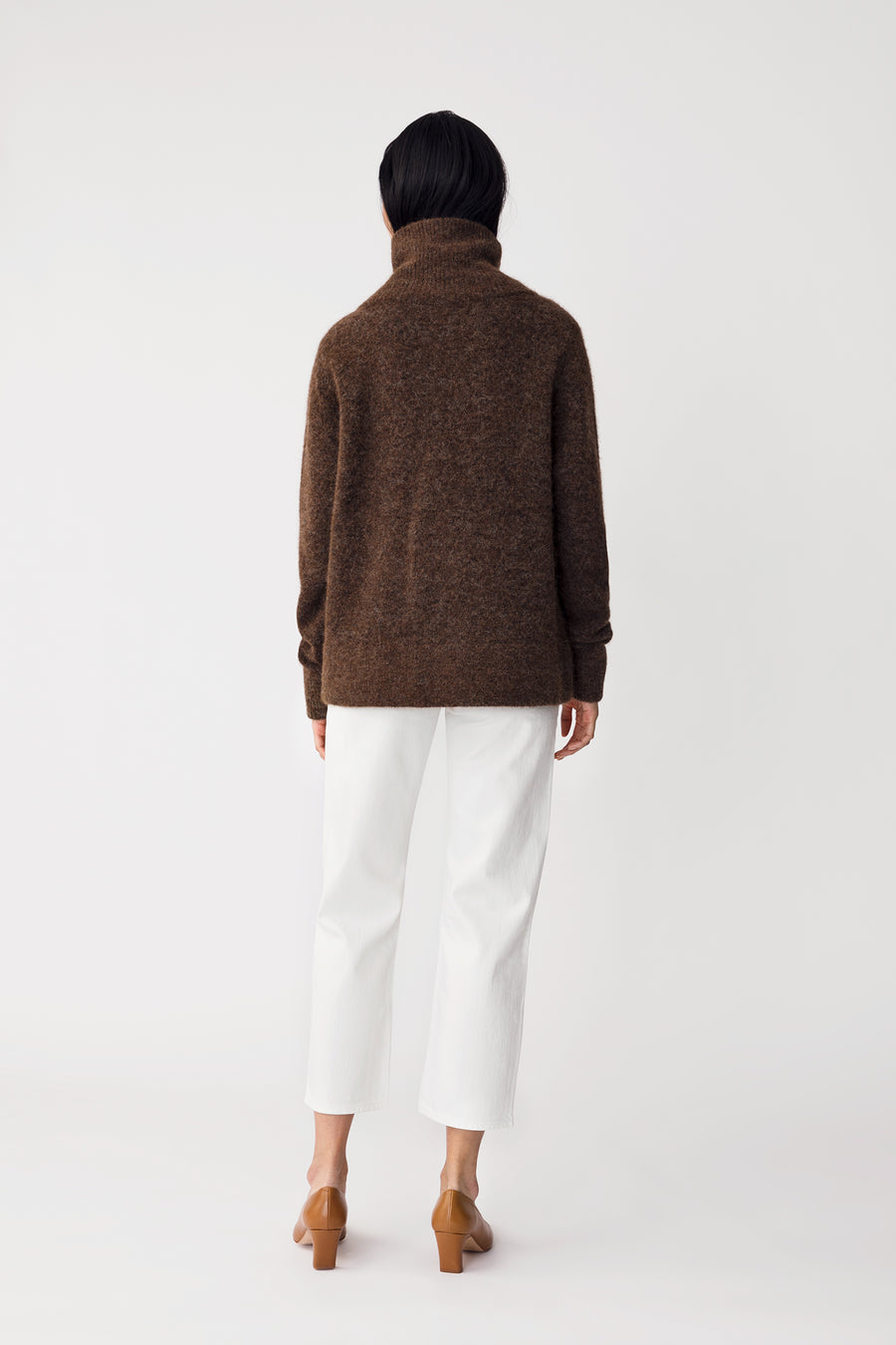ELBE SWEATER - BROWN