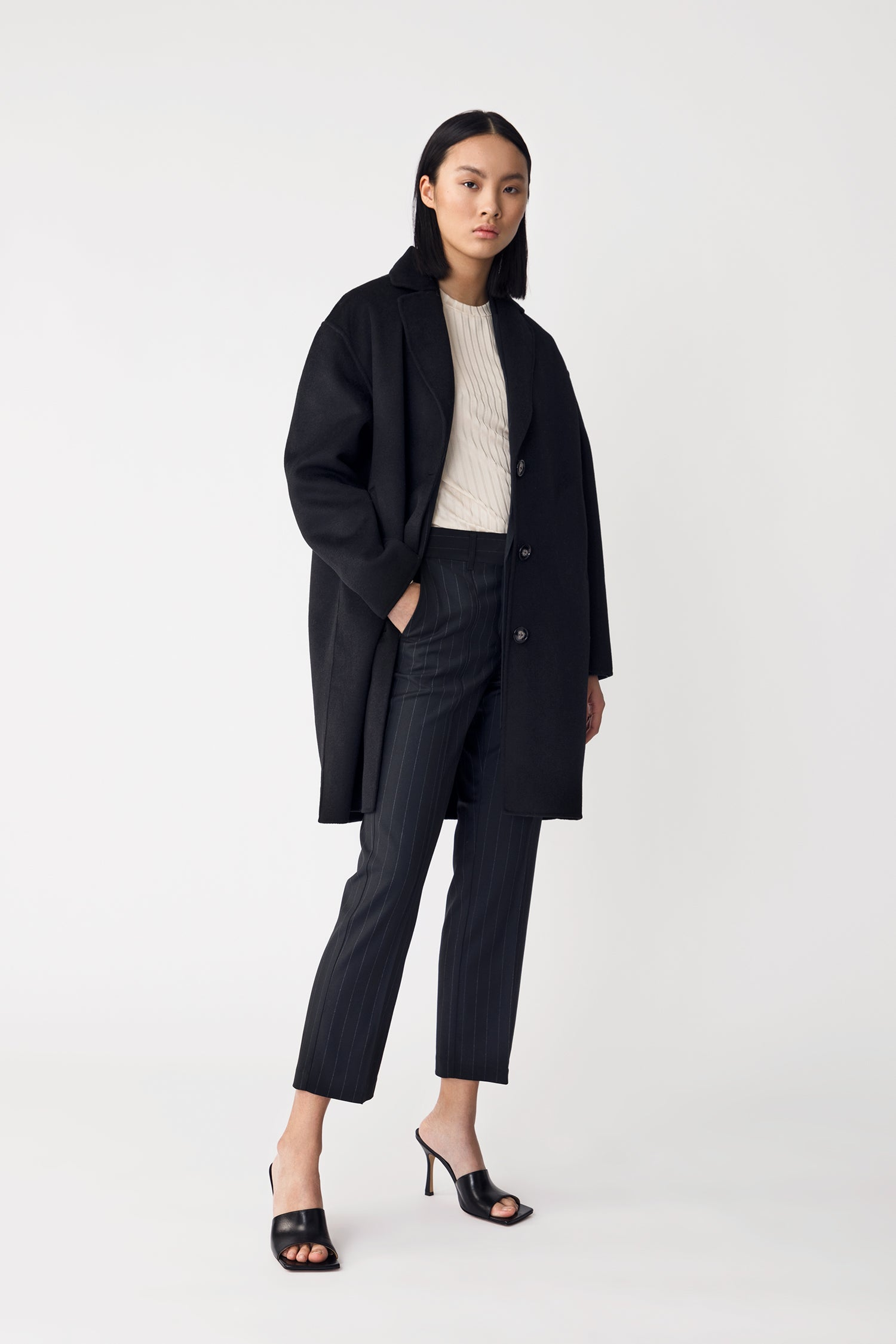 TESSIE COAT - BLACK