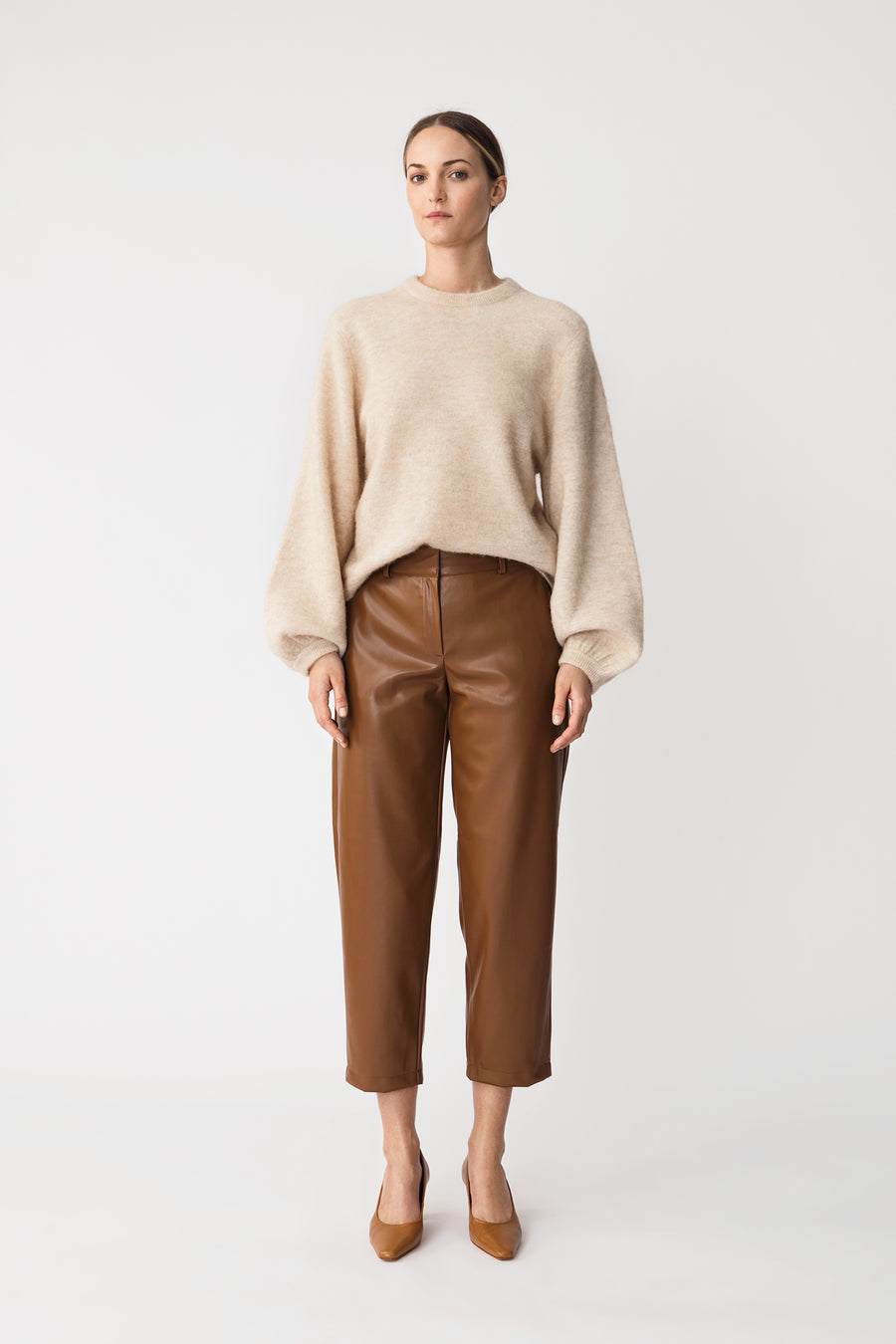 VERDE TROUSERS - BROWN