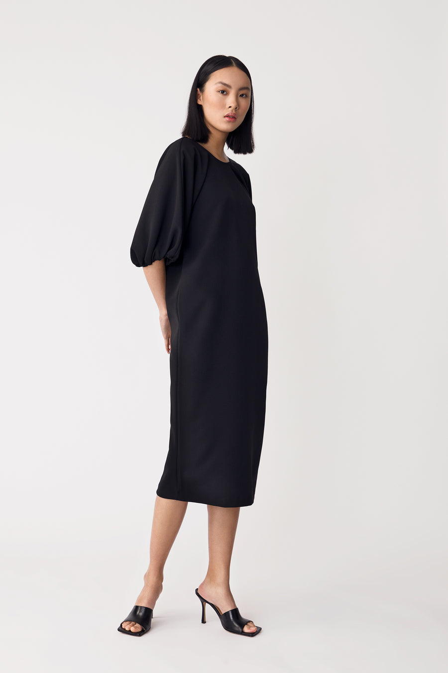 BRUNN DRESS - BLACK
