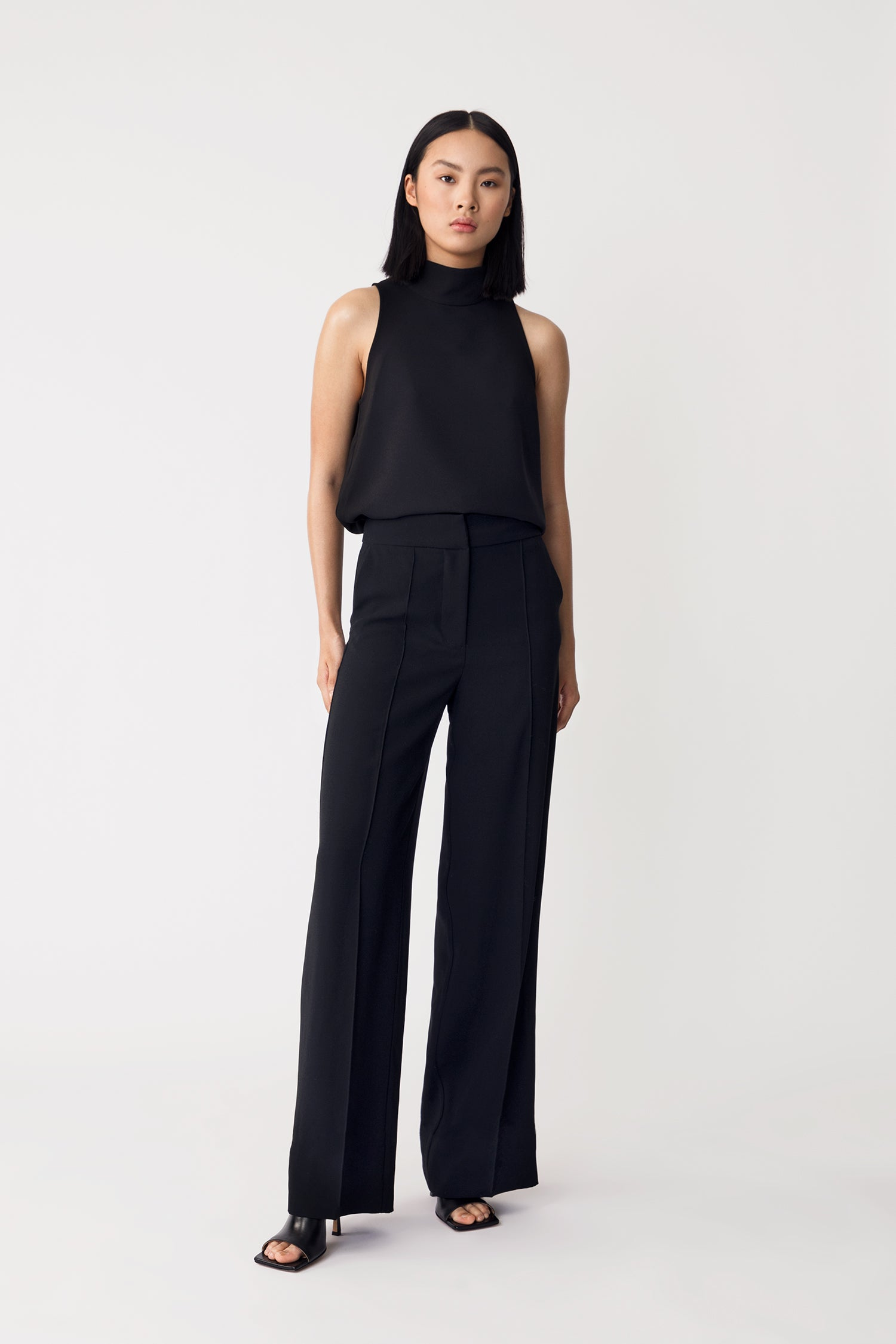BILL TROUSERS - BLACK