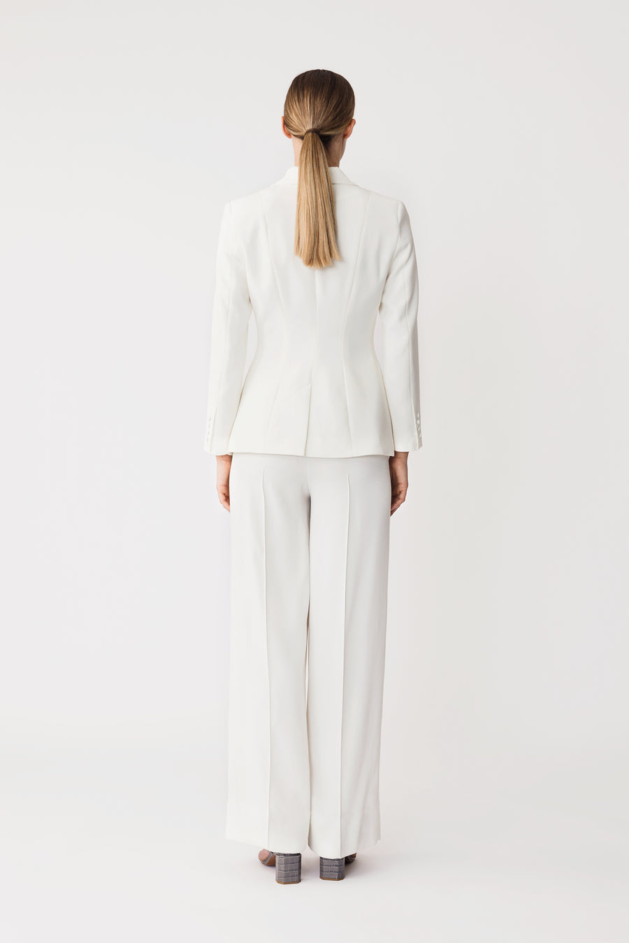 BILL TROUSERS - WHITE