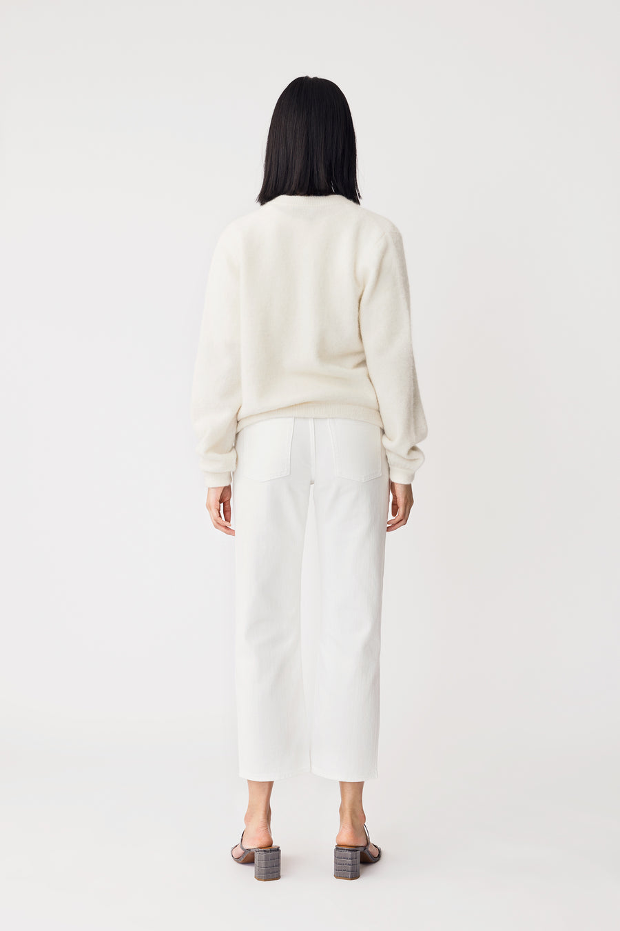 EZIO SWEATER - WHITE
