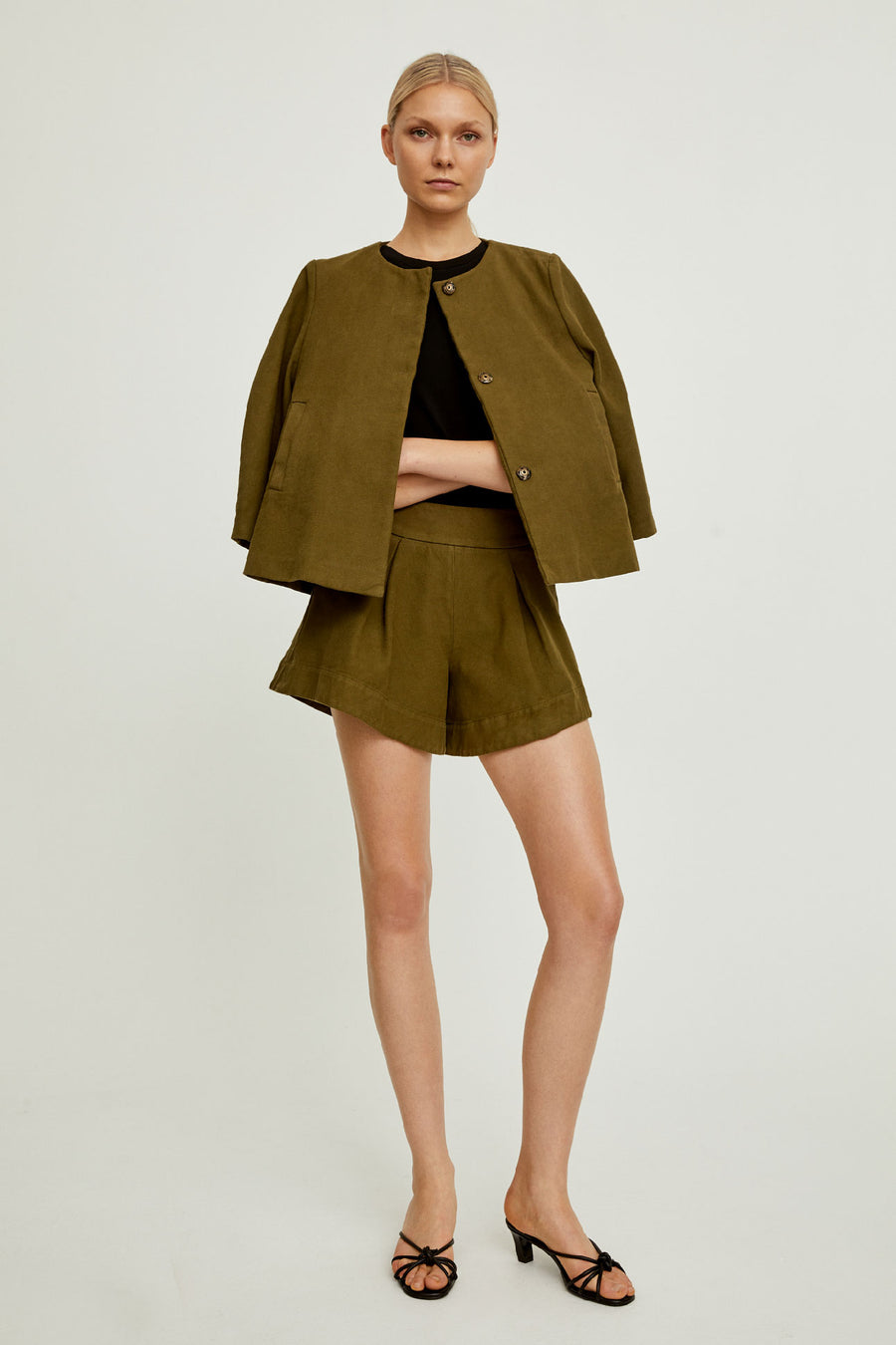 KAISA JACKET - ARMY GREEN