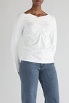 CASSIS TOP - WHITE