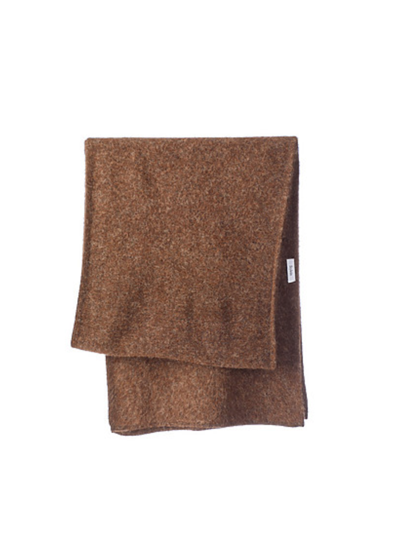 ELSA SCARF - BROWN