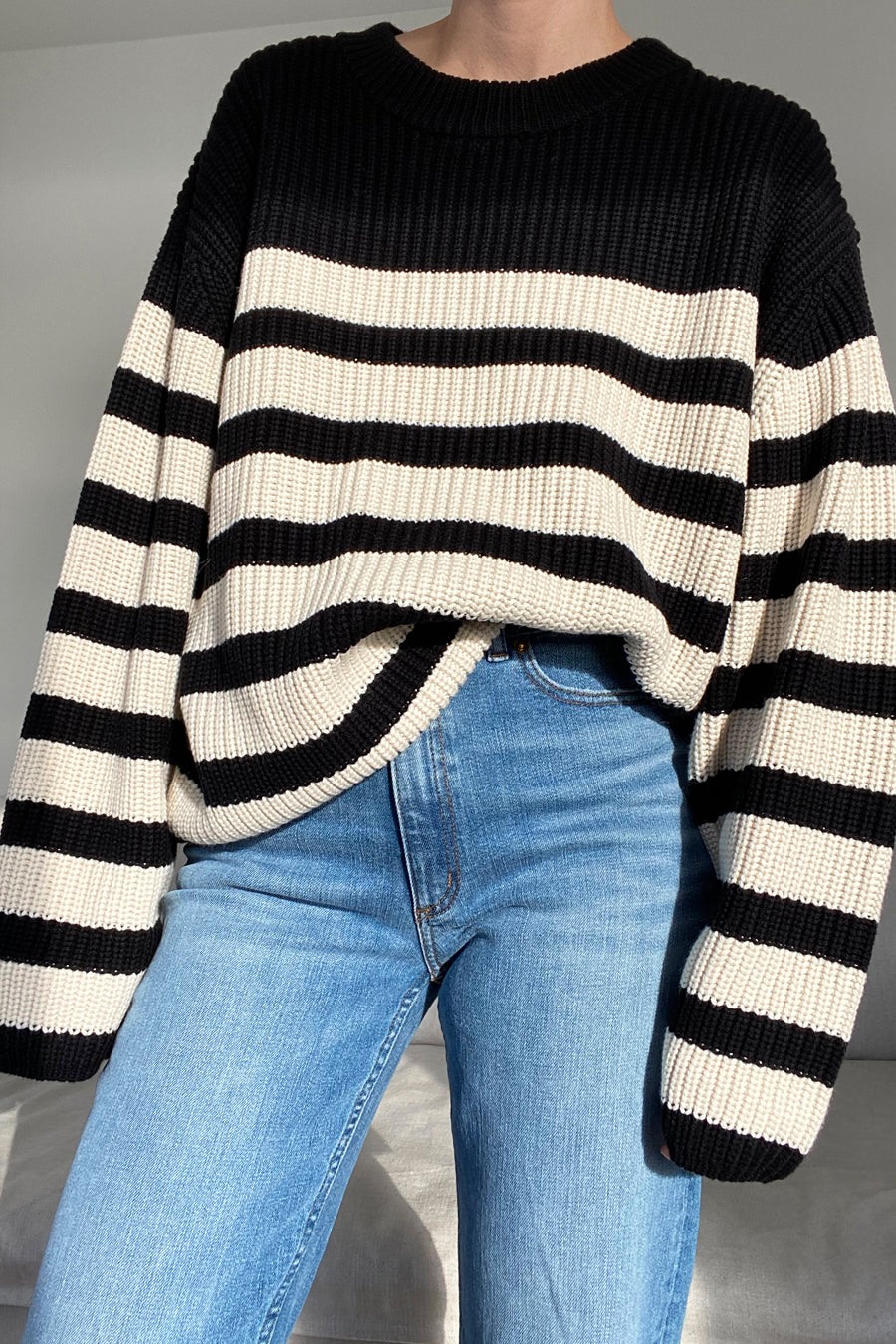 AUBRY SWEATER - OFF WHITE