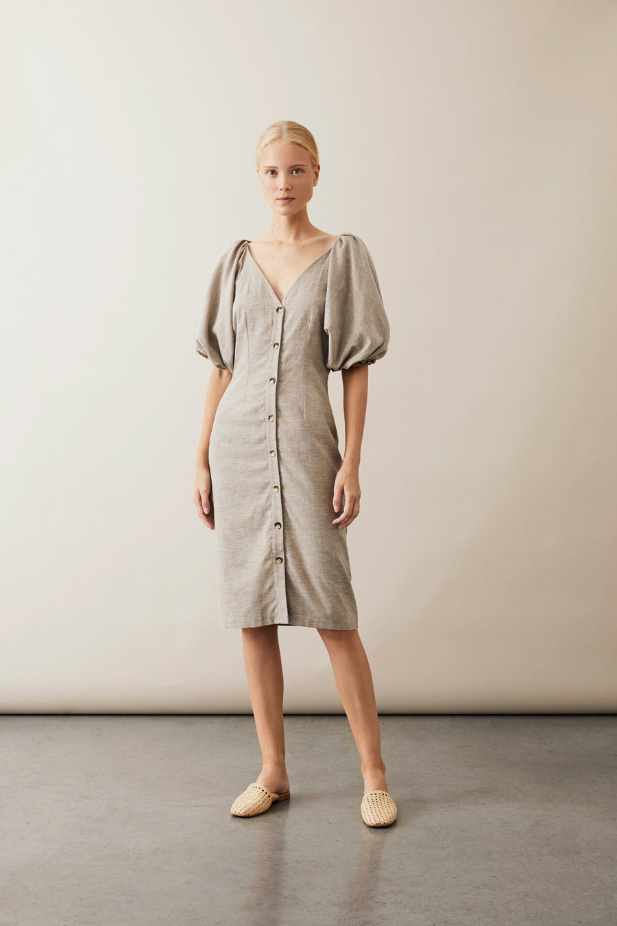 BASIN DRESS - LINEN Dress Stylein
