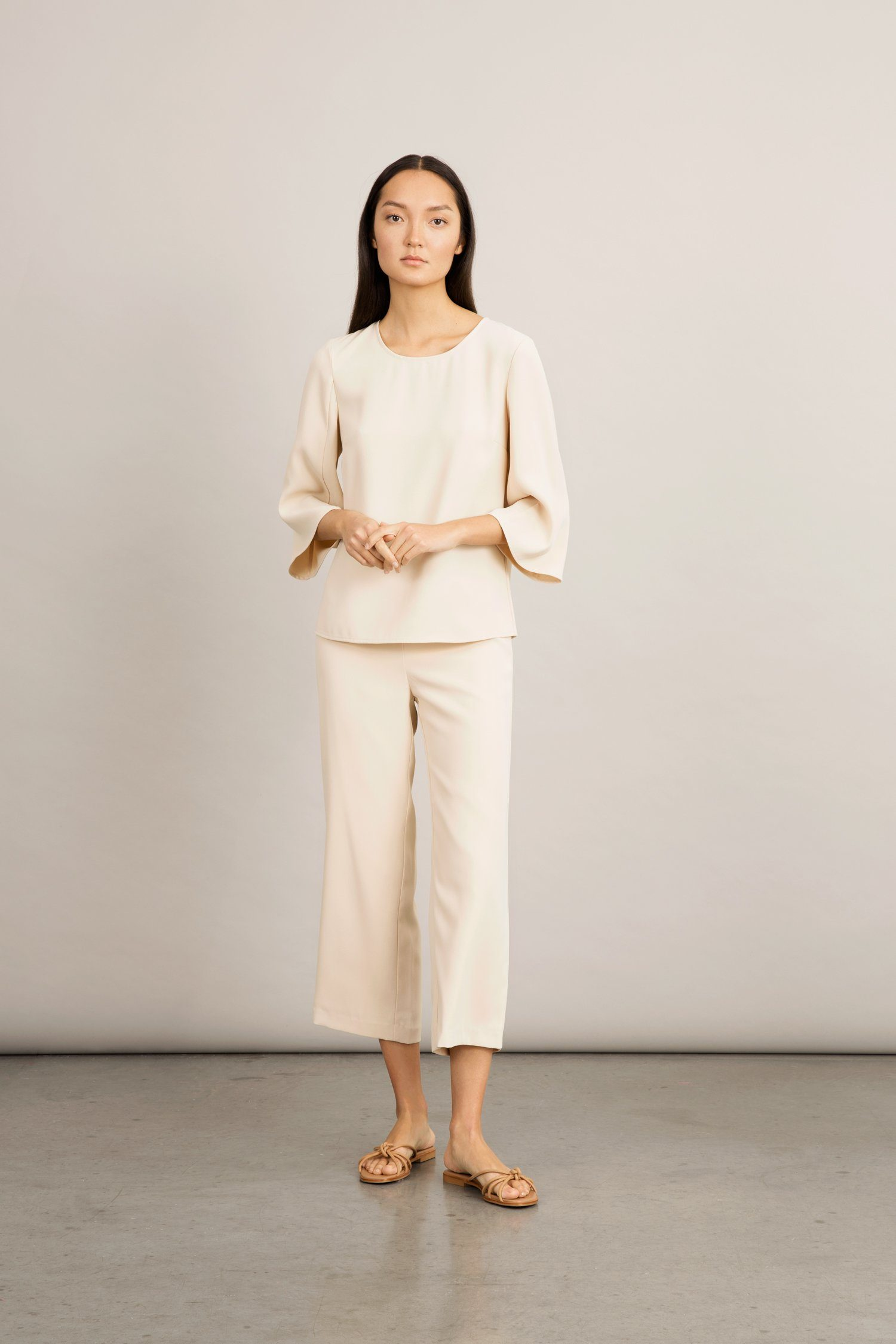 BATALLA TROUSERS - CREAM Trousers Stylein