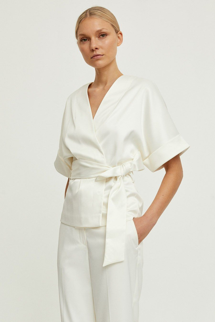 BEDOU JACKET - OFF WHITE Jacket Stylein
