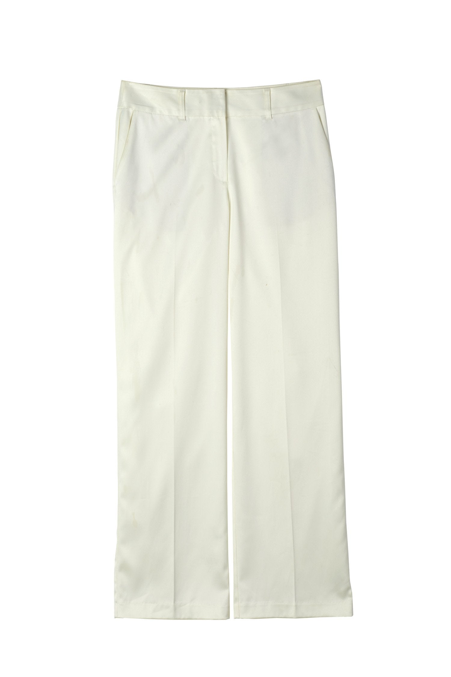BELTON TROUSERS - OFF WHITE Trousers Stylein